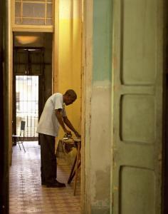 Ramiro, ironing